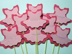 straws, cupcake toppers etc