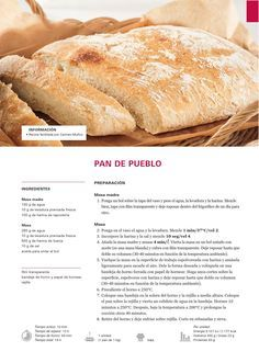 Pan de pueblo Thermomix