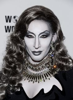Detox bringing black and white realness - this is not a b photo, but rather hair and make-up technique.