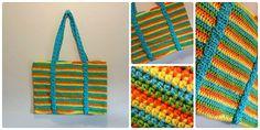 Ravelry: Crochet Spiral Beach Bag Crochet Tutorial pattern by bobwilson123