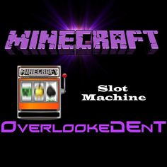 awesome minecraft slot machine! (dependent on fire charges)