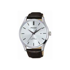 Gave Pulsar Herenhorloge Bruine band Hermes, Lancaster, Bobbi Brown, Timberland, Armani Watches For Men, Pulsar, Seiko Watches, New Product, Omega Watch