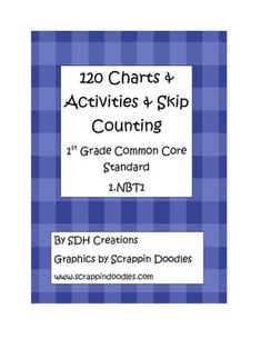 120 Chart Activities  Common Core 1st grade 1.NBT1