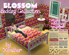 Xandher's Blossom Bedding Collection