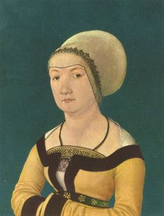 Hans_Holbein - Portrait of a Woman 34 year old