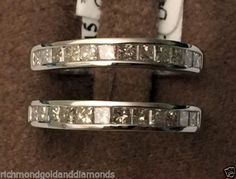 1ct-Princess-Cut-Diamonds-Ring-Guard-Wrap-White-Gold-Solitaire-Enhancer-1-Carat
