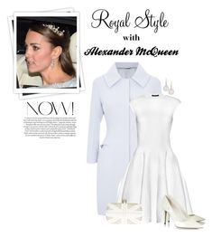"""""""Alexander McQueen for Kate Middleton"""" by ecem1 ❤ liked on Polyvore featuring GALA, Alexander McQueen, Tamara Mellon and Eli"""