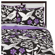 Room 365 Birds and Blossom Duvet Cover Set