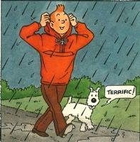 Studios Hergé. Projet d'autocollant Comic Art