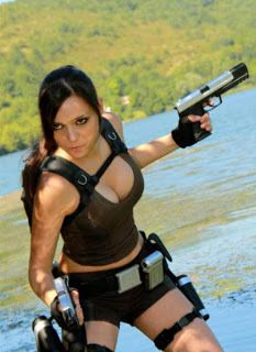 Sexy Lara Croft Cosplays