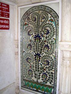 mosaic door   ..rh
