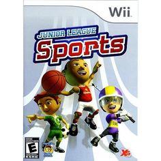 Junior League Sports (Nintendo Wii, 2010)