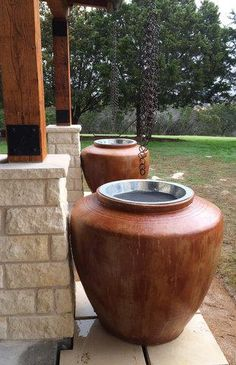 The Ong® Jar - Rainwater Harvesting Made Beautiful landscaping plants plants planting design plants grasses harvesting garden beds backyards