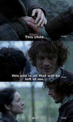 Outlander Season 2 Finale. Claire & Jamie