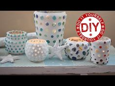 ▶ DIY: Funkelnde Mosaikwindlichter ★ Deko Inspirationen Selbstgemacht - YouTube