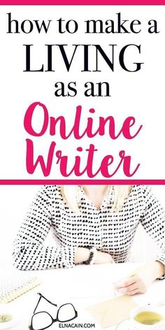 Interested in becoming a freelance writer? How do you make a living as a writer? Learn the steps to find a freelance writing job, freelance writing ideas and tips and make a living writing online so that you make money online. Creative Jobs, Creative Writing, Writing Tips, Writing Resources, Writing Skills, Article Writing, Creative Outlet, Job Freelance, Freelance Writing Jobs