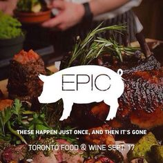 For the 1st time #cochon555 is bringing #HeritageBBQ & Epic Dinner to CANADA @TOfoodandwine 9/17-18