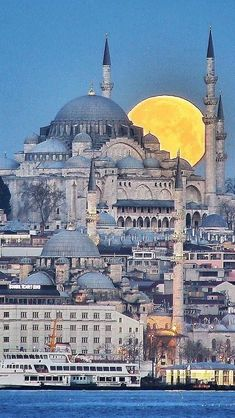 ideas travel icon cities for 2019 Beautiful Mosques, Beautiful Buildings, Beautiful Places, Istanbul City, Istanbul Travel, Hagia Sophia Istanbul, Places To Travel, Places To Visit, Mosque Architecture