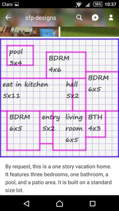 Sims 2 House, Sims 4 House Plans, Sims 4 House Building, Sims 4 House Design, House Floor Plans, Casas The Sims Freeplay, Sims Freeplay Houses, Minecraft Banner Designs, Minecraft House Designs