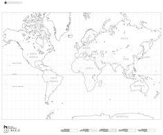 DIY - World Map Kit