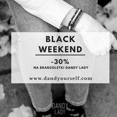 BLACK WEEKENDwww.dandyourself.com! #black #weekend #blackfriday #friday #sale #shop #shoponline #online #bracelet #jewelry #promotion #promo #womensfashion #inspiration #style