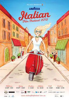 Lavazza Italian Film Festival 2012  official poster