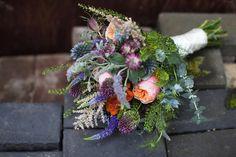 Laidback rustic wedding // Beaumonde wedding dress // Photography by Lauren McGlyn