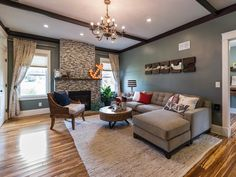 Family Room Tour From Blog Cabin 2014