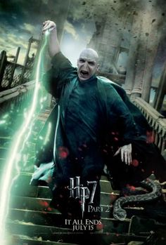 do the Voldemort dance   Ralph Fiennes IS  Lord Voldemort   in  Harry Potter and the Deathly Hallows Movie  2010  / 2011