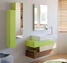 meubles de salle de bains sanijura collection pacific - Meuble Delpha Unique Onde