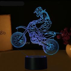 Ingenious Seven-color 3d Table Lamp Usb Plug-in Night Fun Atmosphere Bedside Lamp Valentines Day Send Girlfriend Surprise Gift Light Yet Not Vulgar Led Night Lights