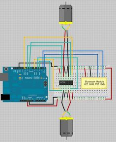 Control DC Motors with your Smartphone (Perfect for a Robot)                                                                                                                                                                                 Mais