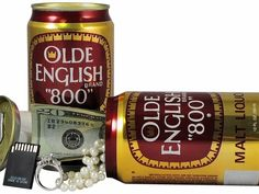 Olde English Beer Can Safe