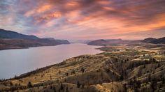 Kamloops Lake in British Columbia, Canada Amazon Fire Tv, Amazon Echo, Great Shots, British Columbia, Vacation Spots, Places To Visit, World, Travel, Photos