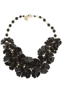 Tatty Devine - Hellebore Rose Beaded Necklace