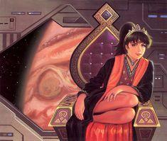 A Princess Of Jupiter by AlanGutierrezArt.deviantart.com on @DeviantArt