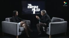 "Empire Files: US-Russia Relations in ""Most Dangerous Moment"" - Abby Martin interviews Stephen Cohen Political Corruption, Politics, Abby Martin, York University, Princeton University, Political Spectrum, Journalism, Russia, Empire"