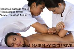 Balinese massage techniques include acupressure, skin rolling and flicking, firm and gentle stroking, percussion, and application of essential oils. The practitioner may also apply stone massage. The combination of manual therapy and aromatherapy is intended not only to relax the patient and loosen fascial restrictions, but to stimulate the lymphatic system and the flow of blood and qi.  www.gaalhairplay.ro