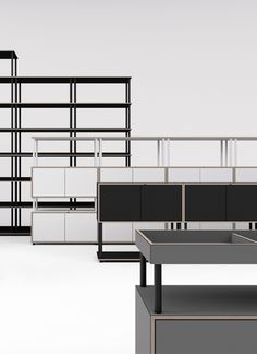 Modular Shelving, Shelving Systems, Plywood Projects, Shelf System, Minimalist Design, Office Furniture, Shelves, Interior Design, Studio