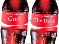 Custom Coke labels..