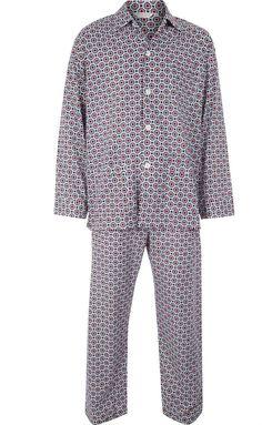 f0dce11b6b Derek Rose Men s Cotton Pyjamas Lightweight Comfort Fit XL