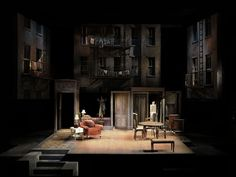 A View From the Bridge. Oregon Shakespeare Festival. Scenic design by William Bloodgood. 2008