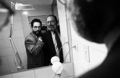 Umberto Eco en el lente de Vasco Szinetar.