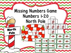 This game will help students with their missing number math assessments. It can be used at centers, math workstations, for RTI, on level and advanced students. It is a great way to practice missing numbers and have fun too! (53 different Cards with missing numbers in all positions)Directions for teacher:Print the cards, game board and dice on card stock.Laminate and cut out.Provide game pieces for the students to move around the game board.Directions to play:Players put their game piece on…