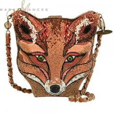 Looking for Mary Frances Sly Fox Orange Foxy Brown Handbag New ? Check out our picks for the Mary Frances Sly Fox Orange Foxy Brown Handbag New from the popular stores - all in one. Foxy Brown, Beaded Purses, Beaded Bags, Fall Handbags, Purses And Handbags, Novelty Handbags, Novelty Bags, Brown Handbags, Ladies Handbags