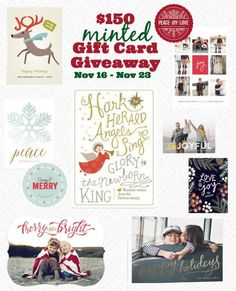 $150 gift card for @minted! - A Life From Scratch.