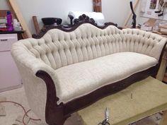 Beautiful tufted sofa