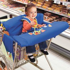 Simplicity Baby Shopping Cart Cover
