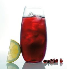 pomegranate cooler pomegranate cooler pomegranate lemon cooler honey ...