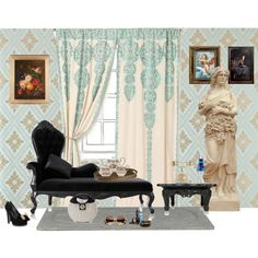 Modern Baroque, created by t-i-v-a-s-u-r-a-d-e-j on Polyvore
